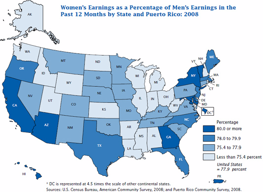 The Gender Wage Gap Needs To Stop By Lexi Letters To The Next - Us wage gap map