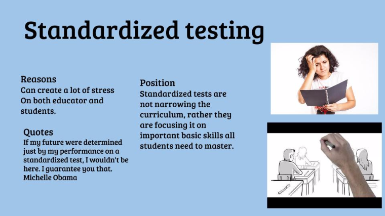 an analysis of the standardized testing in student Standardized tests increase my students with taking standardized tests, they help students to prepare of application and analysis.